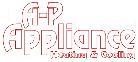 A-P Appliance Heating and Cooling Logo